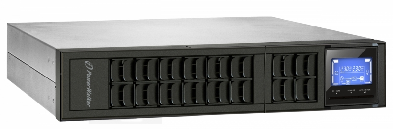ИБП PowerWalker VFI 3000 CRM LCD Rack Tower (10122002)